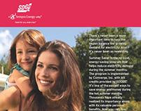 SDG&E Direct Mail Letter