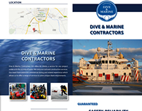 Dive & Marine Contractors - Website & Brochure