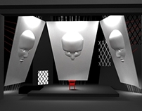 Vakhtangov theater set design