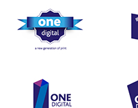 logo concept for One Digital