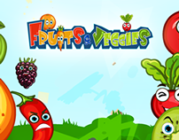 Minti Kids Fruits & Veggies (Game) - Original Music