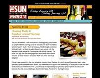 Sun Winefest Email Design