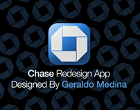 Chase Redesign App