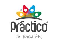 Tiendas Práctico. Branding Visual