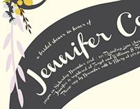 Jennifer Bridal Shower Invite