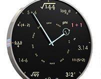 Math Nerd Clock