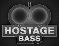Hostage Bass Logo Design