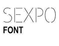 EXPOS, EXOPS,SEXPO FONTS