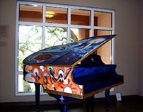 The Cosmic Vision Art-Case Piano