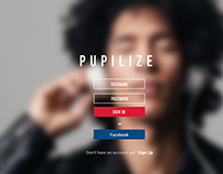 Pupilize Music Interface