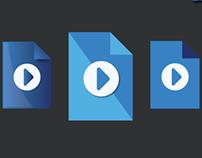 Flat File Icon Design