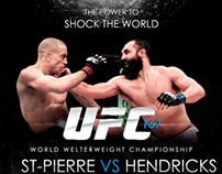 UFC 167: St - Pierre vs Hendricks
