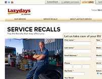 web design/ service recalls