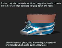 El Magnifico Shoe WIP