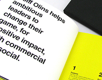 Wolff Olins Capabilities Book