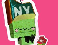 Character Design Mexican Piñata de Diseñador