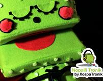 Character Design Toy Mexican Cactus Nopalli Tronik