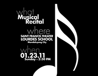 The Sound of Music Recital Programme