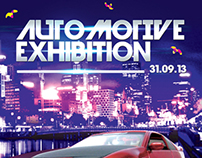Automotive Exhibition Flyer