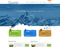 Website Design for Exotic Vacation