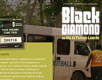 Black Diamond – Flash website for a film release