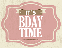 It´s BDAY time!