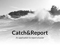 Catch & Report - A mobile application to track disaster
