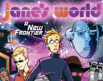 """JANE'S WORLD"" Comic Strip Promotional Poster"