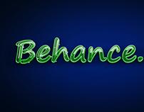 Behance Neon Look