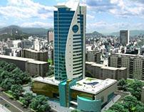 Kazakh architectural project