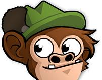 Bavarian Monkeys - Character Design