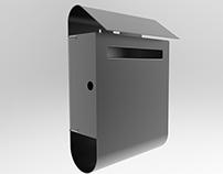 Mailbox in sheetmetal