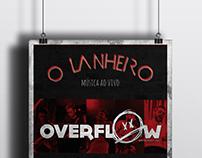 O Lanheiro Café-Bar / Overflow // Poster
