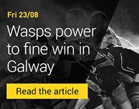 London Wasps Winning Concept