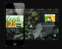Starbucks App iOS 7 Concept