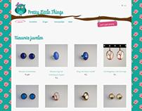 Webshop for handmade jewelry