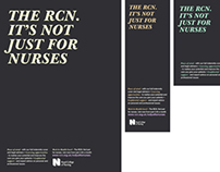 Poster Design for the Royal College of Nurses (RCN)