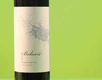 Vinarija Belović - wine labels