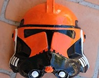 DIY Stormtroopers Helmet Graphic Art