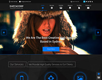 SHEZACORP - Single Page Multipurpose Theme