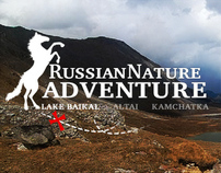 Russian Nature Adventure concept