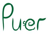 'PUER' Medicinal Tea (branding & package design)