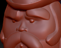 3D Character Sculpture
