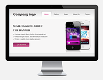A Product based company website