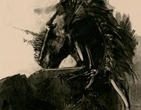 Horse Monotypes Pt. 1
