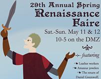 KUMRC Renaissance Faire Posters