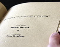 Fanzine : Georges Brassens