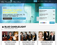 Blue Candlelight Music Series