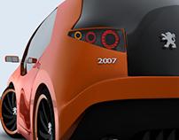 Peugeot 2∞7 Concept