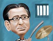 Ahmed Ezz (caricature)